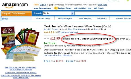 Wine Teasers at Amazon